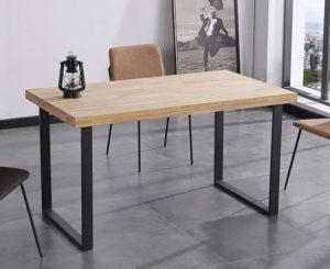 mesa comedor madera NATURAL 5