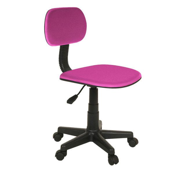 Silla escritorio ruedas rosa LUCKY 1