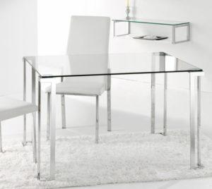 Mesa de comedor cristal