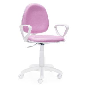 Silla oficina rosa DOLPHIN 7