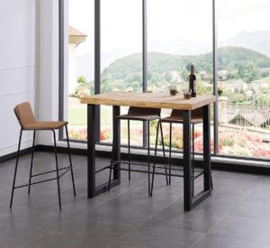 Pack mesa alta + 2 taburetes CAYA - Tienda de muebles Online ...