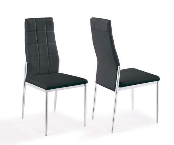 silla negra milano
