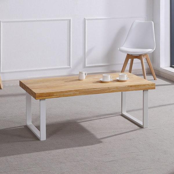 Mesa madera salón NATURAL 2