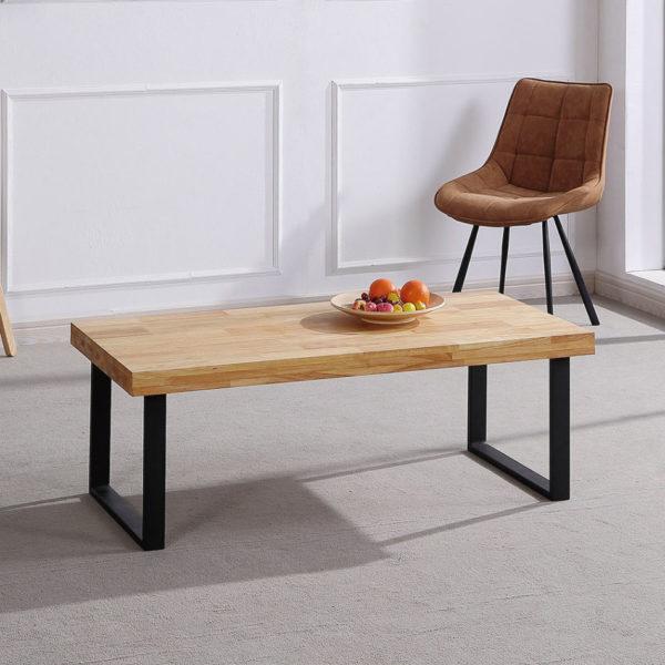 Mesa madera salón NATURAL 1
