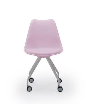 Silla rosa escritorio RANIA 10