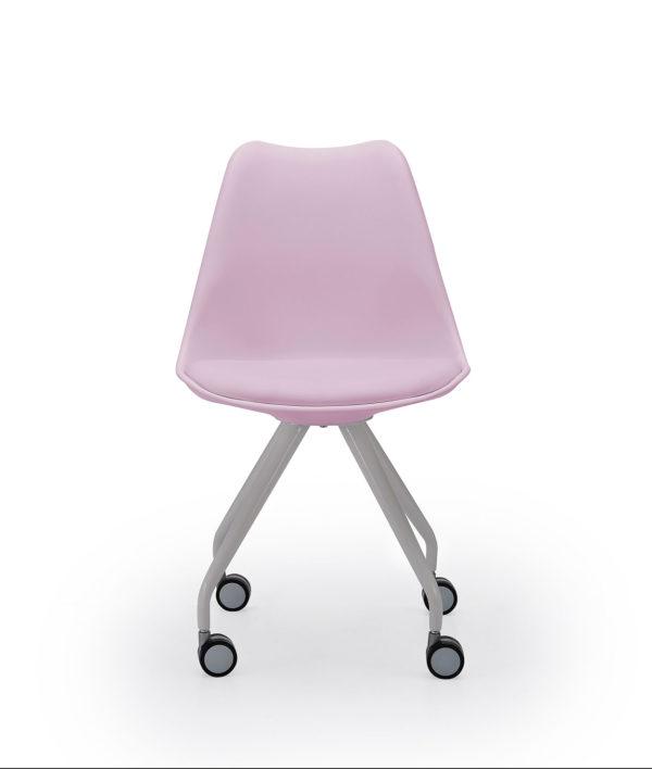 Silla rosa escritorio RANIA 1