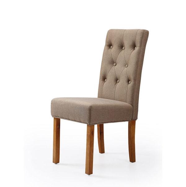 silla comedor acolchada