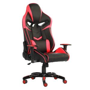 silla gaming roja