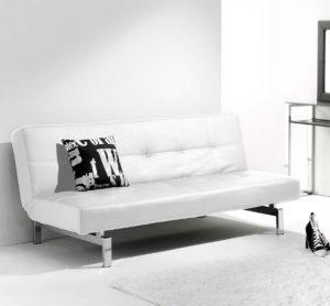 Sofá cama blanco CHIC 3