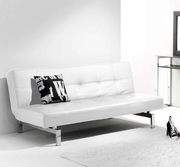 Sofá cama blanco CHIC 1