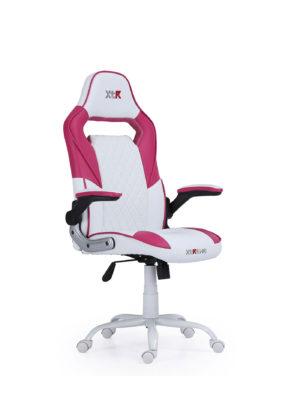 silla gaming rosa
