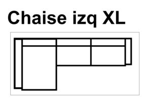 Chaise Izq XL