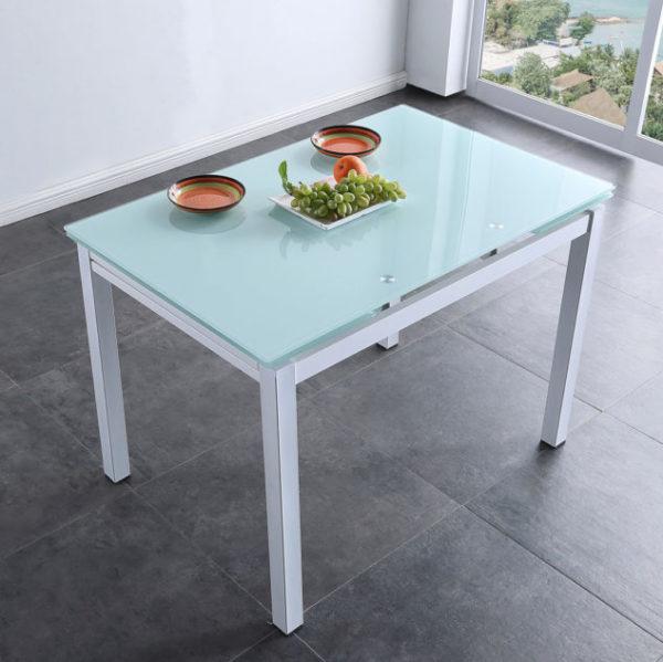 mesa blanca grande Milán