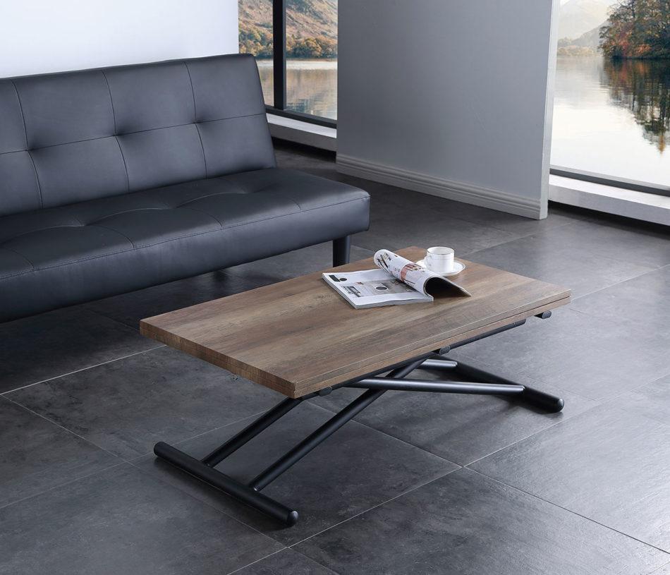 Mesa centro/comedor elevable/extensible UP - DOWN