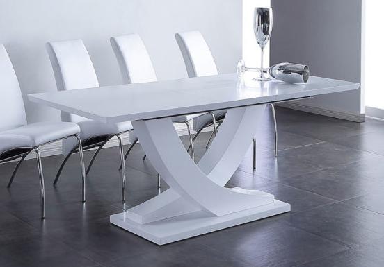 Mesa blanca Matte 1