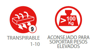 Colchón PASSION (aconsejado para soportar pesos elevados) 4