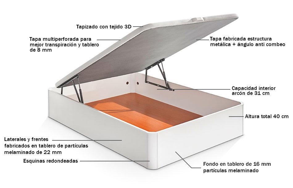Canapé abatible 3XL (gran capacidad) 4