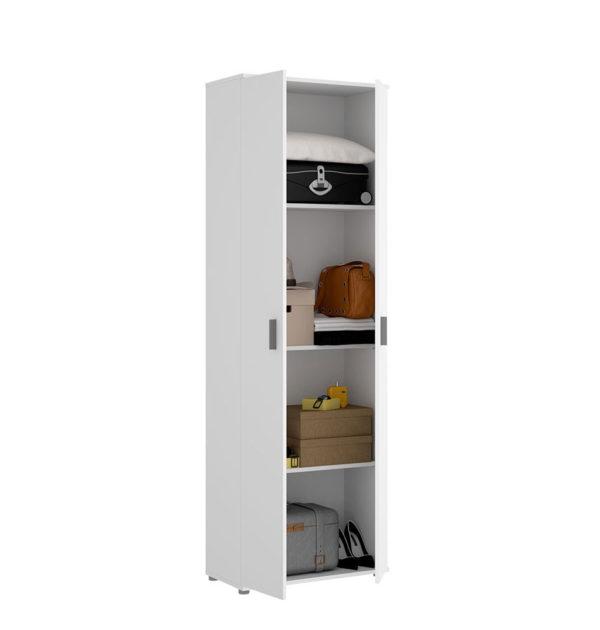 Armario multiusos de 2 puertas y 3 estantes FIT 2
