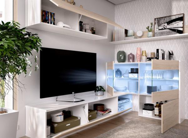Mueble salón rinconero UMA 2