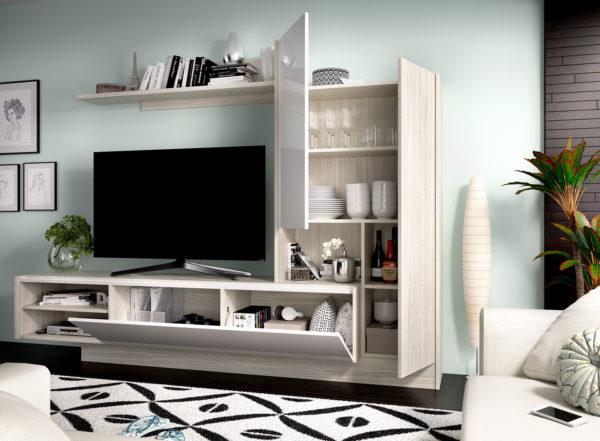 Mueble moderno salón ELM 2