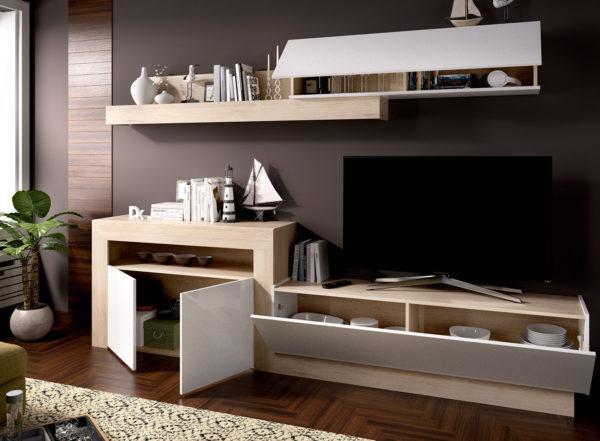 Mueble de madera salón ENNA 2