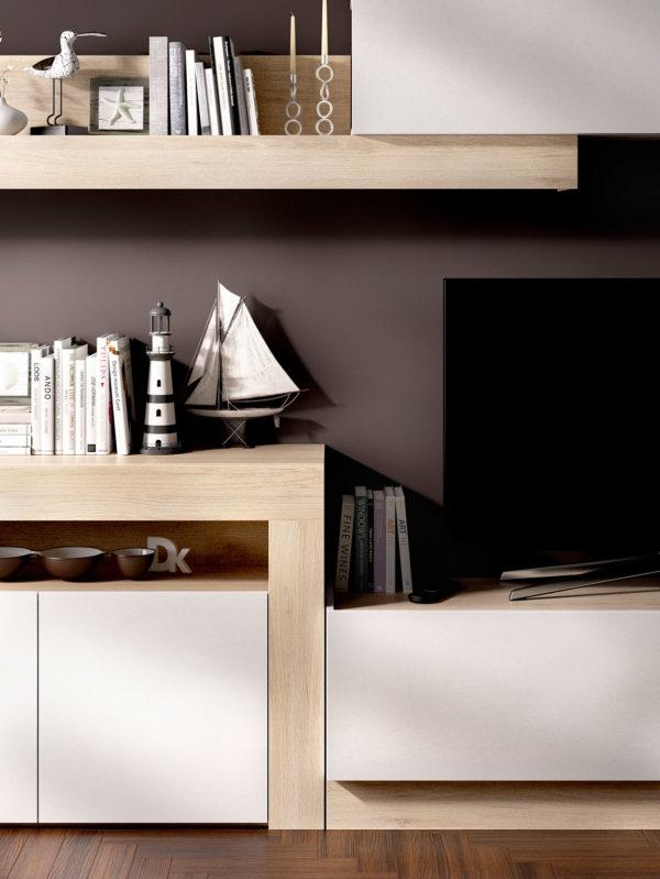 Mueble de madera salón ENNA 3
