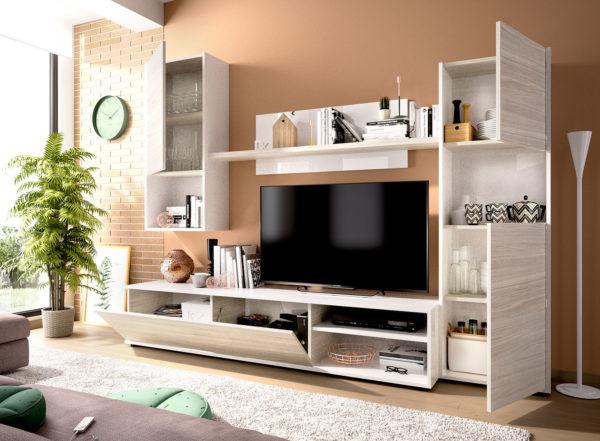 Mueble salón moderno LUKA 2
