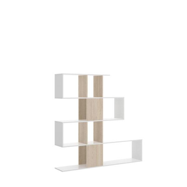 blanca estanteria