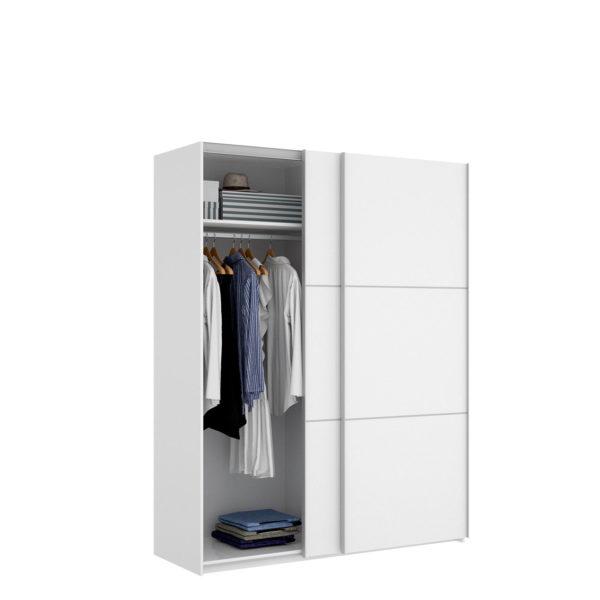 armario puerta corredera blanco