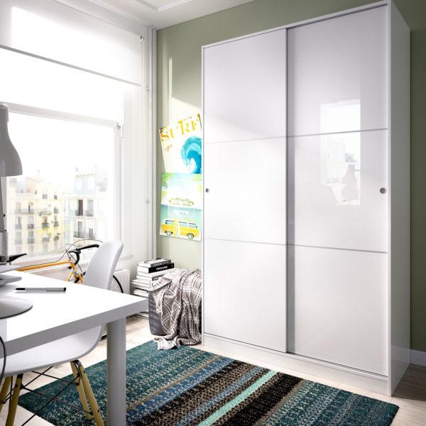 armario puerta corredera 120 cm