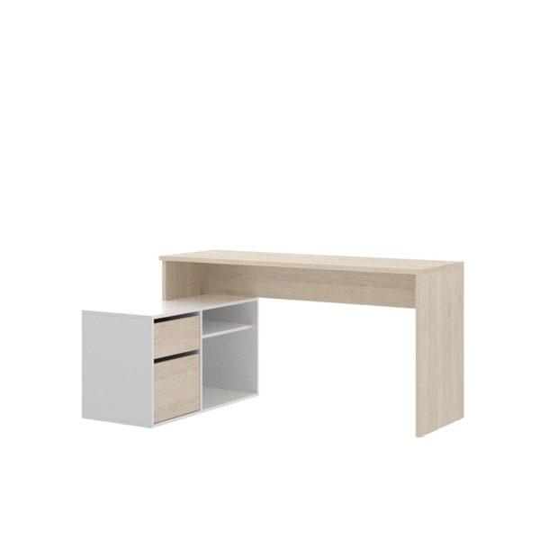 mes ade escritorio en l barata rox natural y blanco