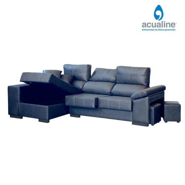 Sofá chaiselongue rusia 3 plazas brazo marengo