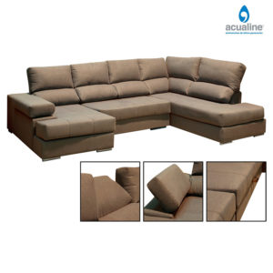 Chaiselongue amplio venecia beig