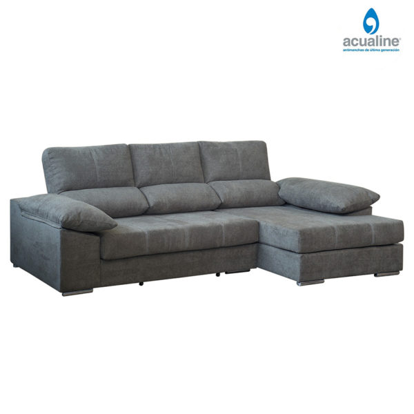 chaiselongue extra suave david de color gris