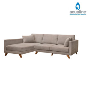 chaiselongue elegante beig