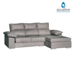 chaiselongue comodo 3 plazas gris