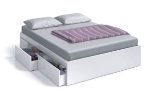Cama de 150 con 4 cajones BED 3