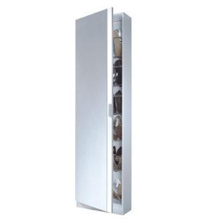 Zapatero 1 puertas + espejos GUSTO (alturas-12 varillas) 7