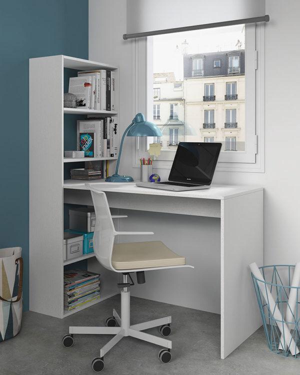 Mesa de escritorio + estantería GIO 1