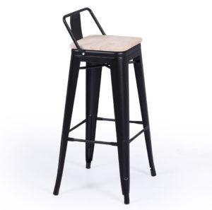 Taburete alto asiento madera TOLIX 7